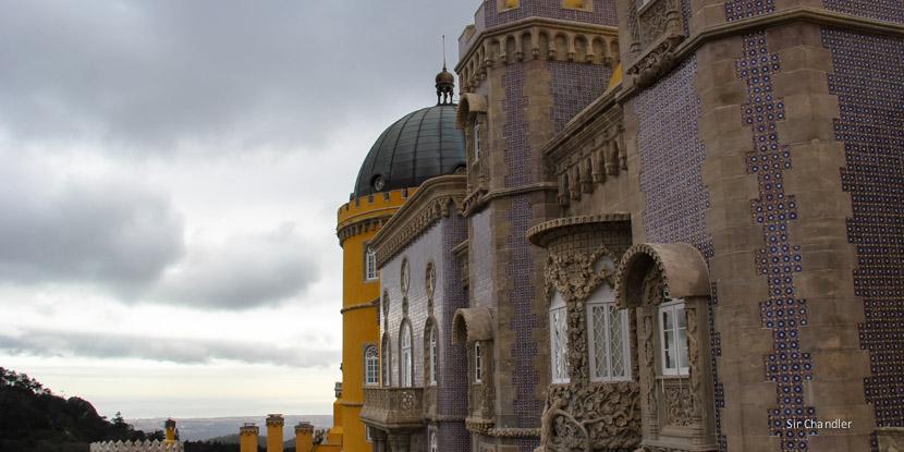 El Palacio da Pena en Sintra, cerca de Lisboa
