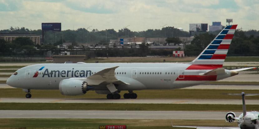 Habrá vuelos directos a Los ángeles con un 787 de American Airlines