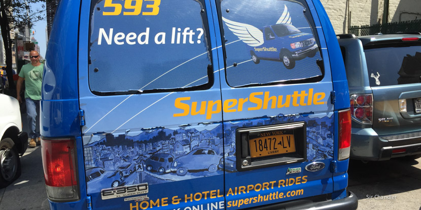 Shared airport shuttle rides start at $13, and are available 24/7, to and from major NYC airports, including JFK, LGA & Newark.
