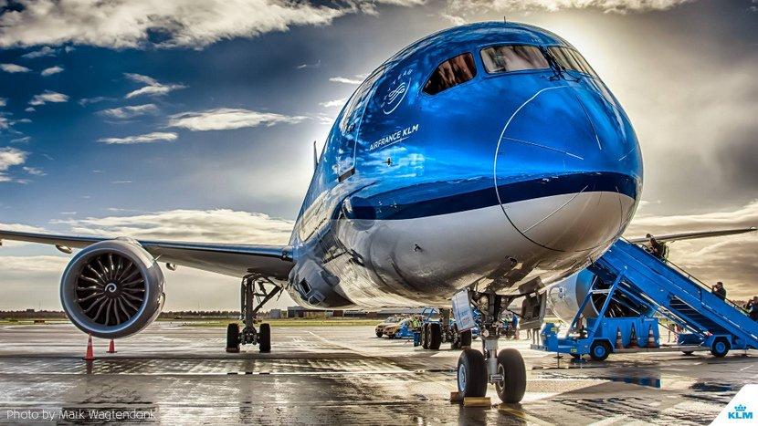 Video «unboxing» de un Boeing 787. Otra genialidad de KLM