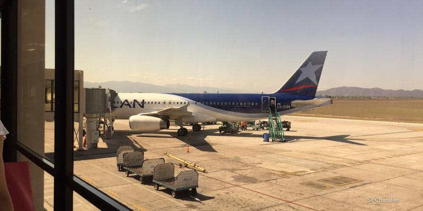 Volviendo de Salta con LAN – Octubre 2015