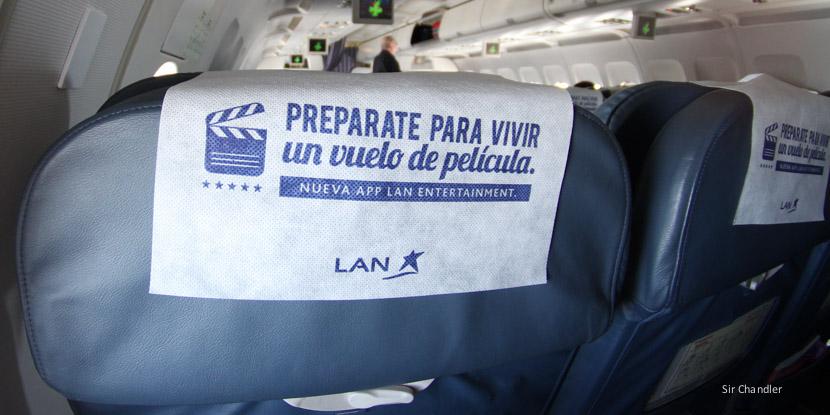 LAN Argentina llegó al 100% de la flota con entretenimiento vía wifi