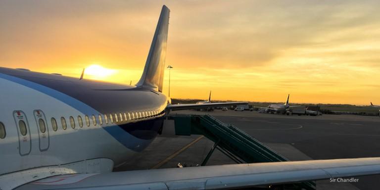 Volando a San Pablo en la Premium Economy de LAN Argentina