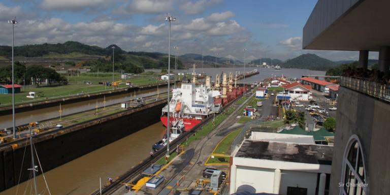Conociendo el canal de Panamá (Crucero Pullmantur día 7)