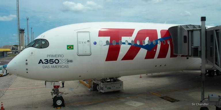 Así es el Airbus 350 de LATAM
