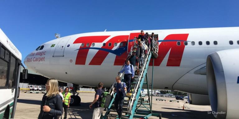 De San Pablo a Ezeiza en business de un Airbus 330 de TAM