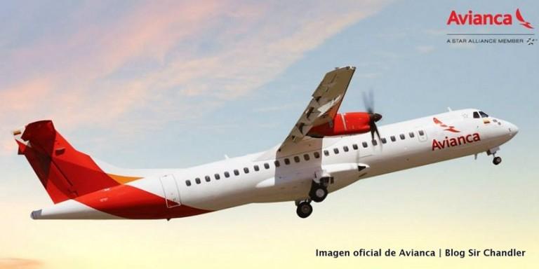 Avianca Argentina usaría los ATR72 para volar a Rosario y Mar del Plata