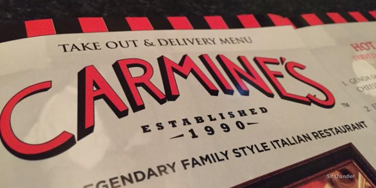 Carmine's un clásico de Nueva York (y otros lugares)