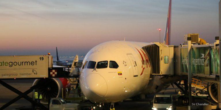 Volando a Bogotá en un Boeing 787 de Avianca