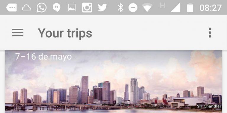 Se puede probar Google Trips