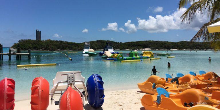 Blue Lagoon Island en las Bahamas