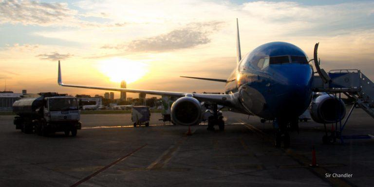 Aerolíneas Argentinas suspende los vuelos a Caracas al menos por dos semanas
