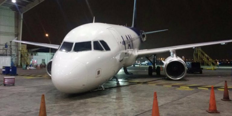 Incidente con Airbus 320 de LATAM Argentina en Lima