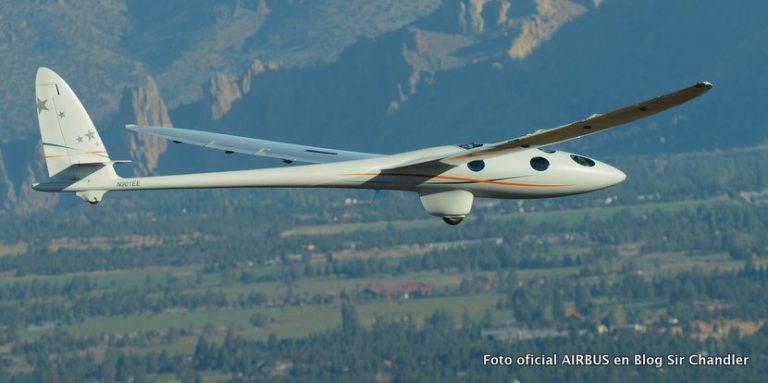 Airbus trae su planeador especial a la Argentina para probarlo