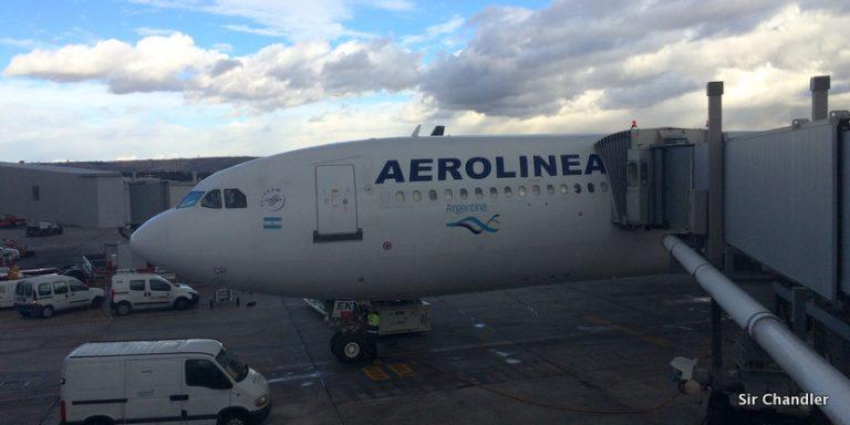 Retiran al Mirtha Legrand o el Albino de Aerolíneas Argentinas