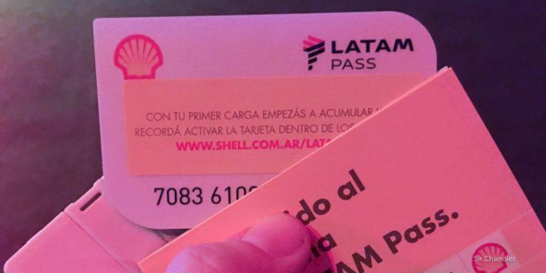 Concurso de Shell por 400.000 LATAM PASS (y un BMW :P)