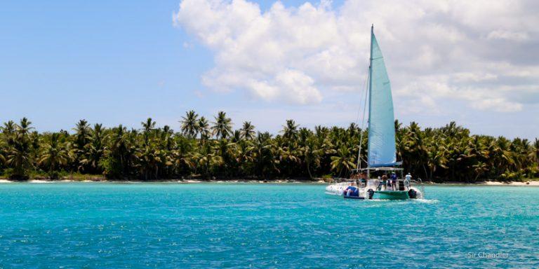 La isla Saona cerca de Punta Cana
