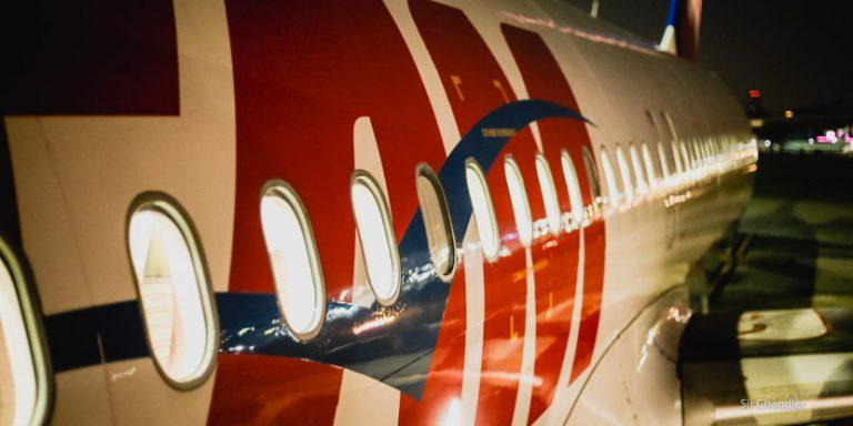 Volando de Salvador a Buenos Aires vía San Pablo