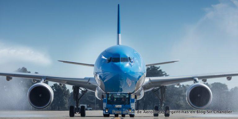 Aerolíneas Argentinas presentó su nuevo Airbus 330