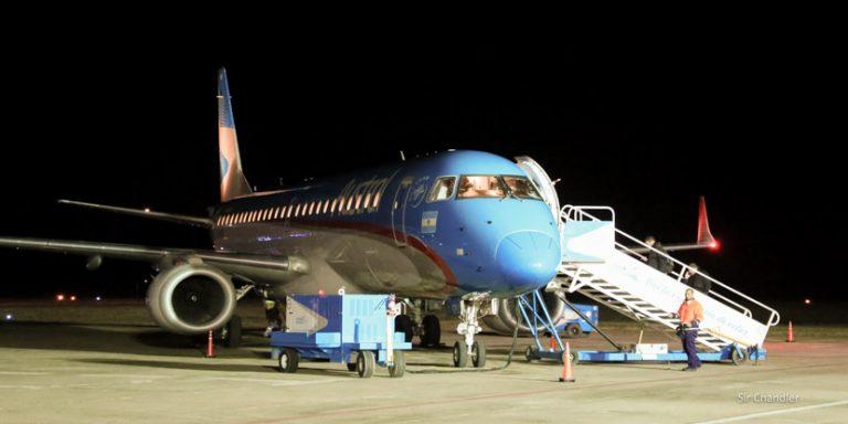 Crónica del primer vuelo a Rio Cuarto (detalles y entrevista con el ministro de transporte)