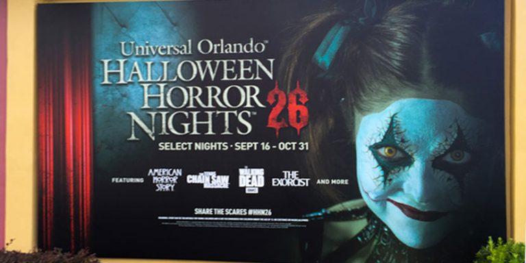 Las Halloween Horror Nights de Universal Orlando