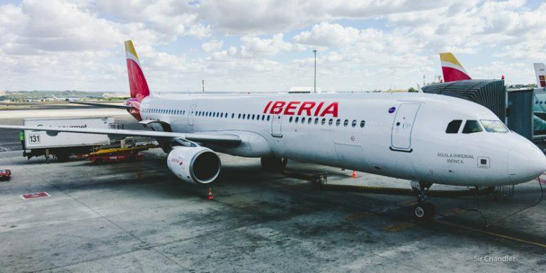 Volando de Madrid a París con Iberia