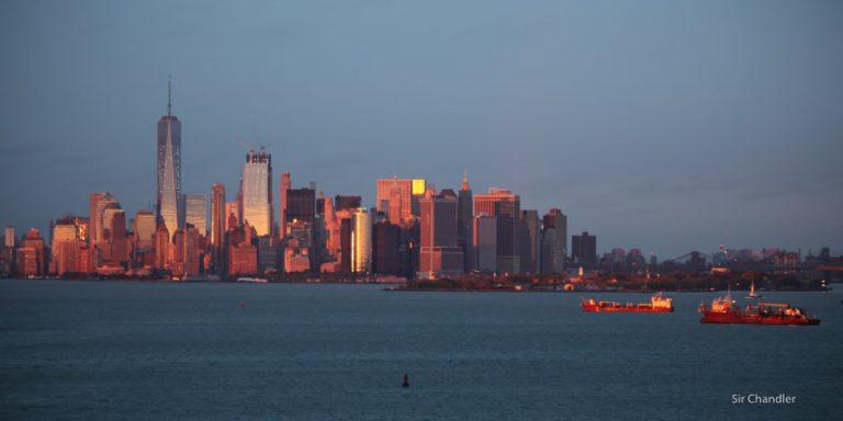Saliendo con un crucero desde Nueva York