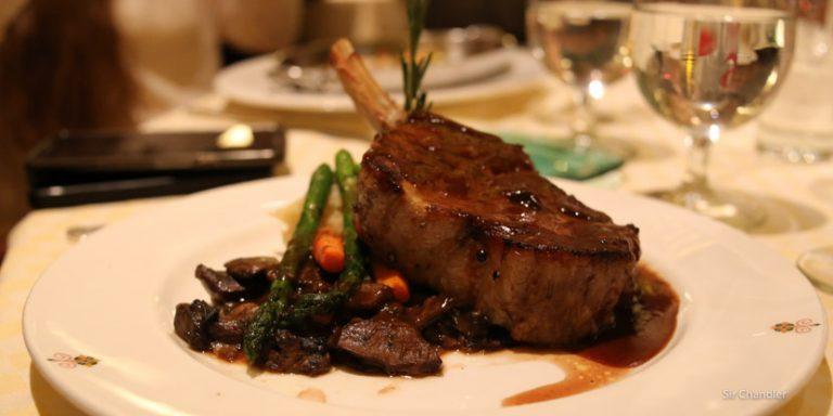 Los restaurantes premium en el crucero Princess (II/II)