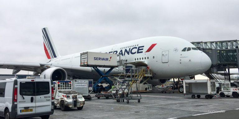 Recorriendo con Air France el Charles de Gaulle en París (I/II)