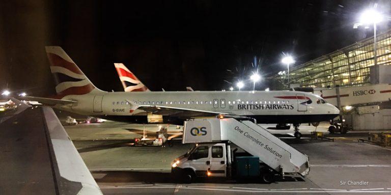 Volando de Berlín a Londres con British