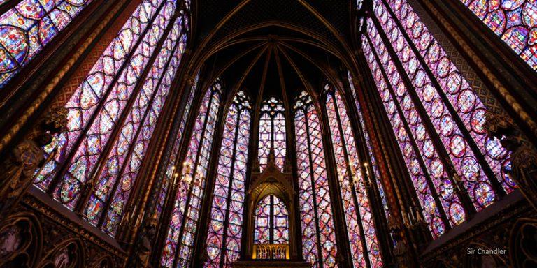 La Sainte Chapelle en París