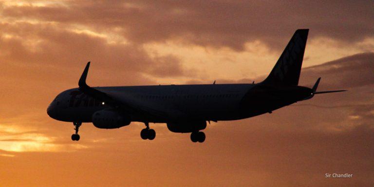 ¿El Airbus 321 operando en Aeroparque?