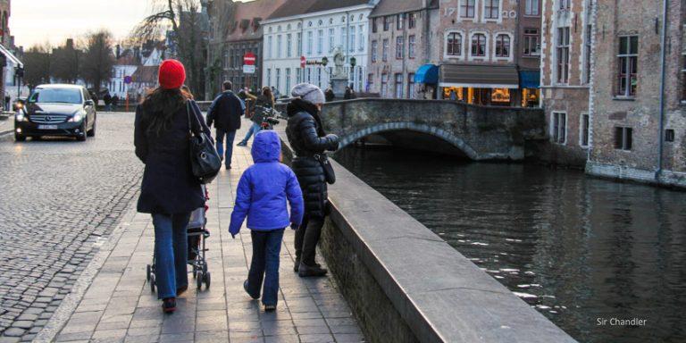 Arrancando el viaje a Europa en familia