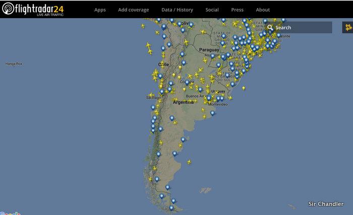 Flightradar tendrá más aviones cubiertos en la Argentina 2017