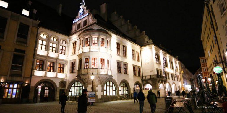 El restaurant y cervecería Hofbräuhaus de Munich