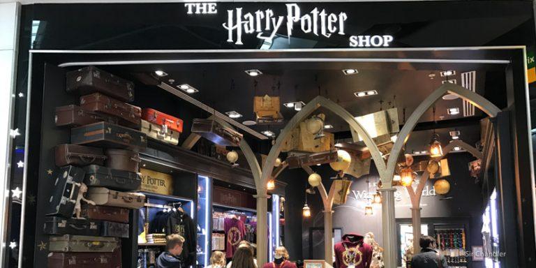 El shop de Harry Potter en el aeropuerto de Londres