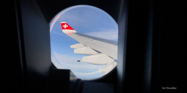 Vuelo de Swiss entre San Pablo y Zurich