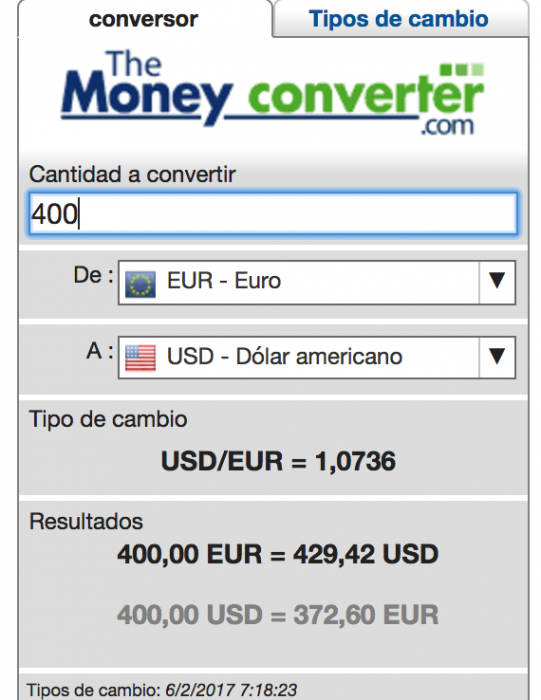Money Converter Euro Dolar