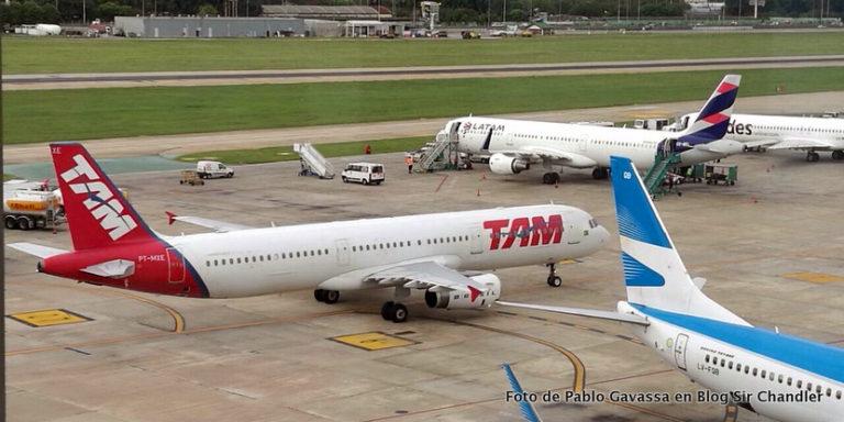 Los Airbus 321 se acomodaron en Aeroparque