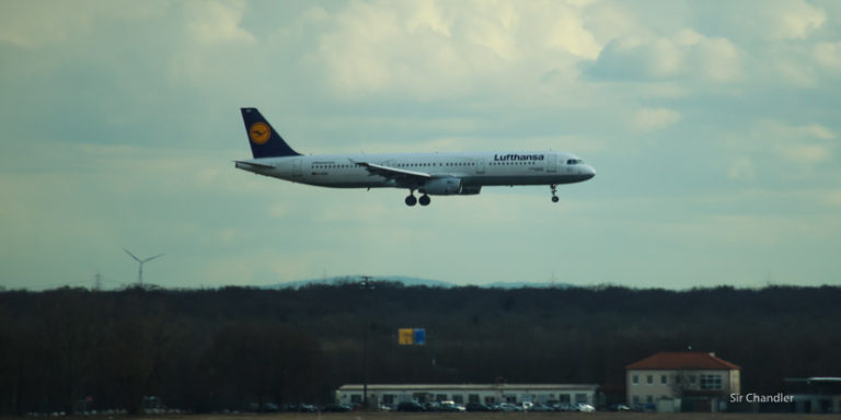 Volando con Lufthansa desde Madrid a Frankfurt