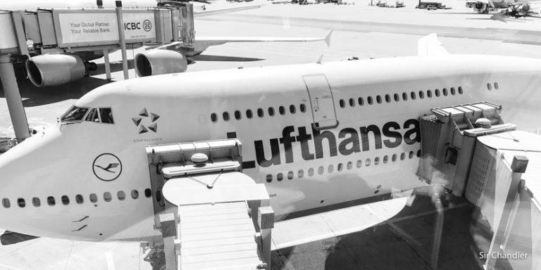 Vuelo con Lufthansa a Alemania (para tomar el crucero de Princess)