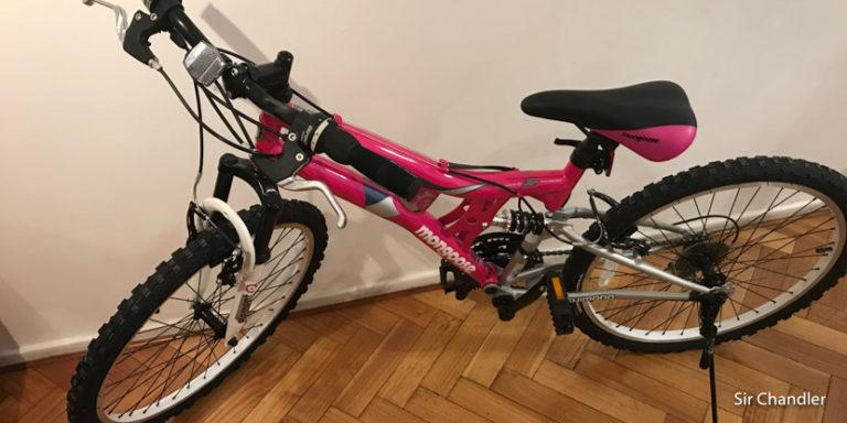 Las bicicletas compradas en Amazon y traídas desde Nueva York