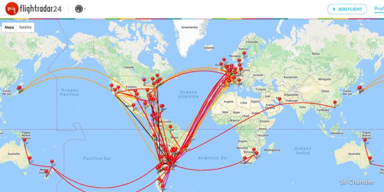 Flightdiary ahora es de Flightradar (y mejoró)