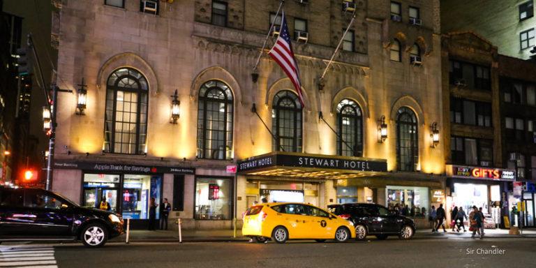 El Stewart hotel de Nueva York