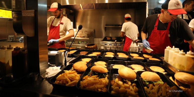 Williamsburg y sus hamburguesas