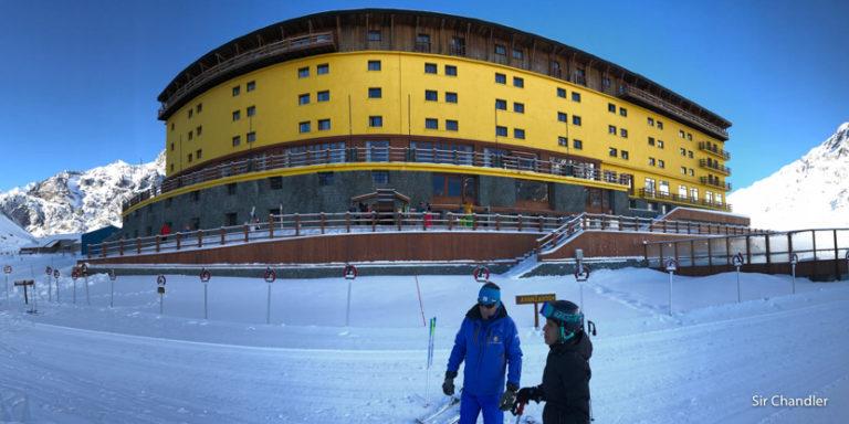 Una instructora de ski muy particular