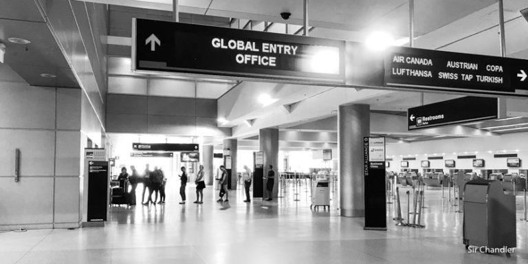 Confirmando la Global Entry en el aeropuerto de Miami