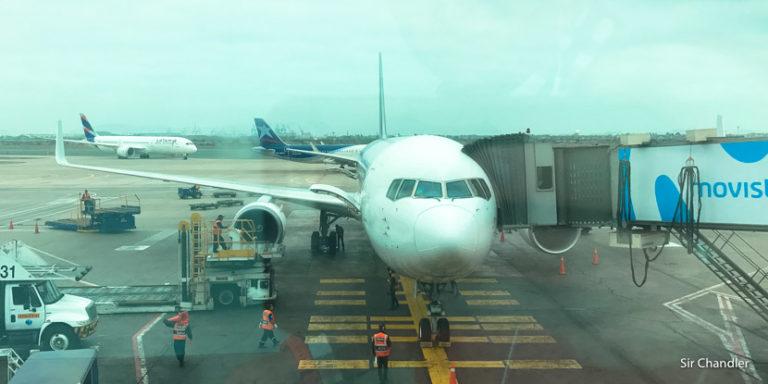 El vuelo a Cancún con LATAM – trayecto a Lima (I/II)
