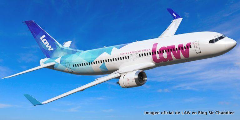 LAW la aerolínea chilena que quiere volar a Miami por USD 549 y a Nueva York por USD 599
