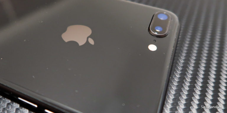 La cámara del Iphone 8 plus